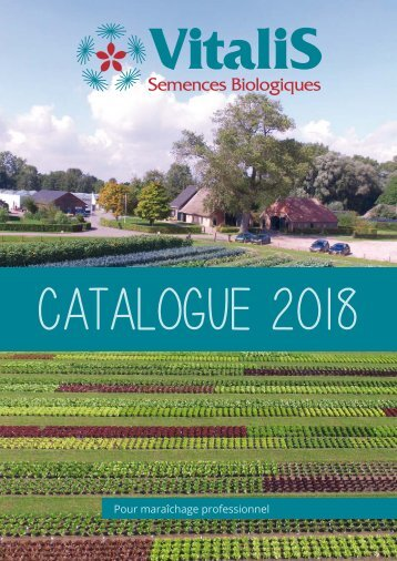 Catalogue Vitalis 2018