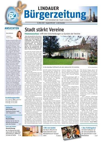 24.03.2018 Lindauer Bürgerzeitung