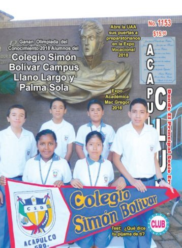 Revista Acapulco Club 1153