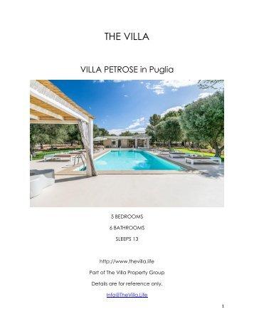 Villa Petrose - Puglia
