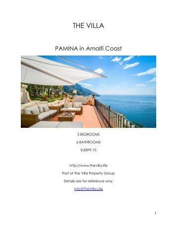 Pamina - Amalfi Coast
