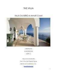 Villa Oliviero - Amalfi Coast