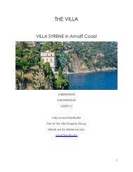 Villa Syrene - Amalfi Coast