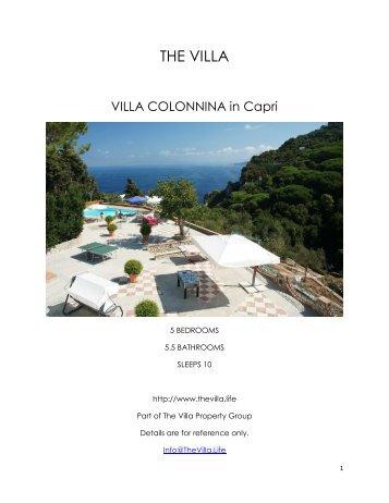 Villa Colonnina - Capri