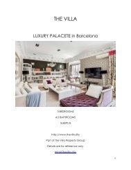 Luxury Palacete - Barcelona