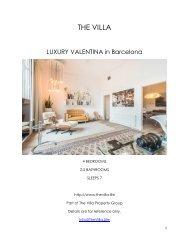 Luxury Valentina  - Barcelona
