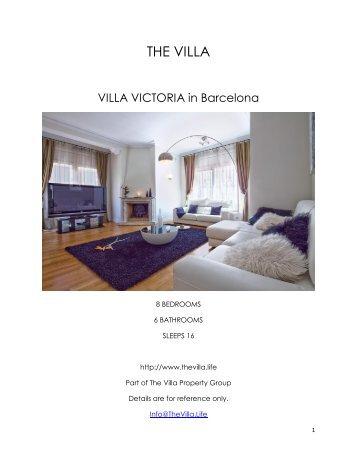Villa Victoria - Barcelona