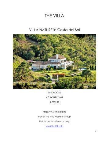 Villa Nature - Costa del Sol
