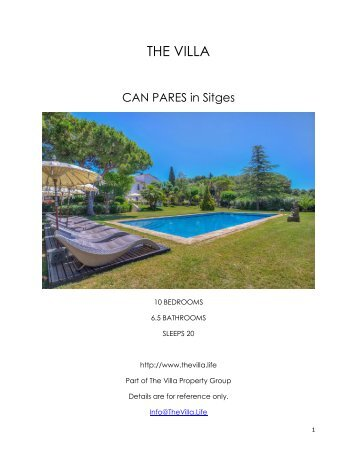 Can Pares - Sitges