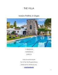 Masia Pairal - Sitges