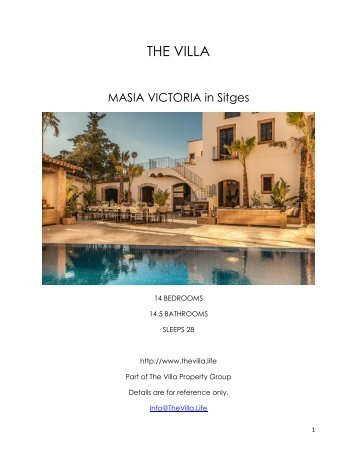 Masia Victoria - Sitges