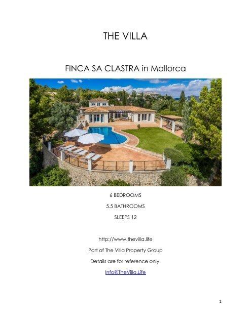 Finca Sa Clastra - Mallorca