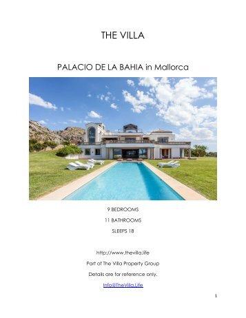 Palacio de la Bahia - Mallorca