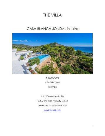 Casa Blanca Jondal - Ibiza