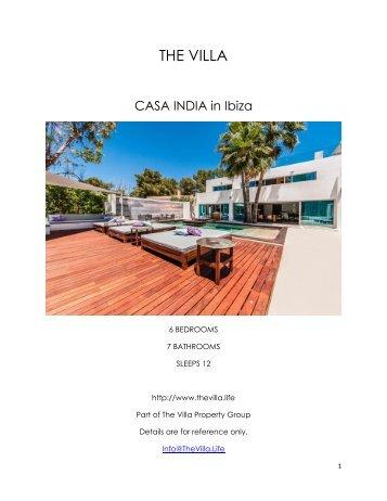 Casa India - Ibiza