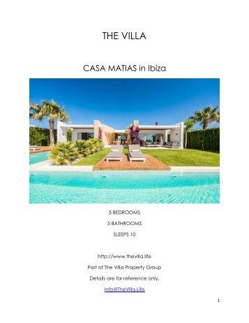 Casa Matias   Ibiza