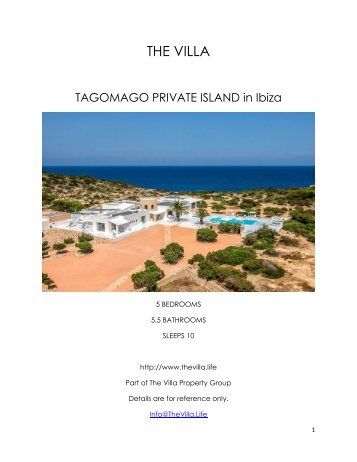Tagomago Private Island - Ibiza