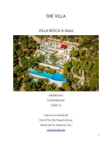 Villa Roca - Ibiza
