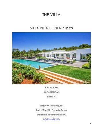 Villa Vida Conta - Ibiza