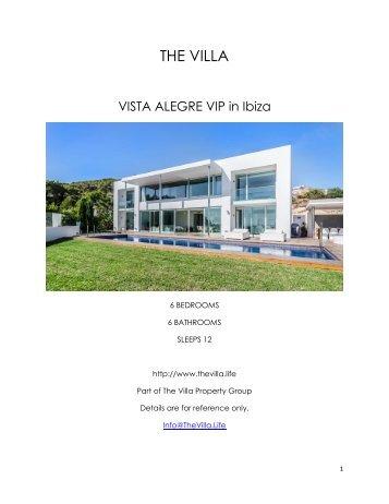 Vista Alegre VIP - Ibiza