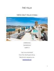 Vista Dalt Villa - Ibiza