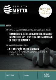 Edição 8 Revista METTA