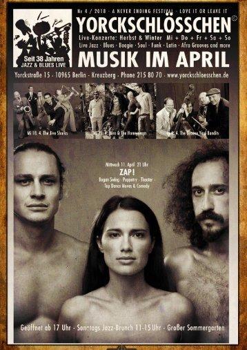 April Program