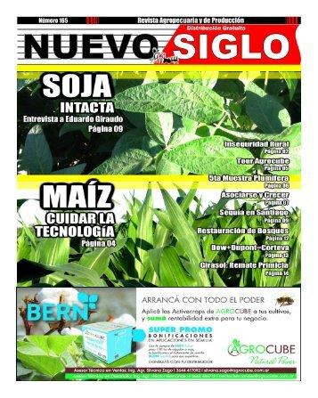 Revista Agropecuaria Nuevo Siglo Número 165 - MARZO 2018
