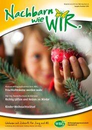 Richtig Lüften und Heizen im Winter Kinder-Weihnachtsrätsel - BGV