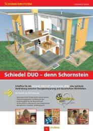 Schiedel DUO – denn Schornstein - Carl Bremer GmbH & Co. KG