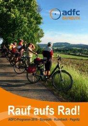 Programm 2018 - Rauf aufs Rad - ADFC Kreisverband Bayreuth -  Allgemeiner Deutscher Fahrrad-Club e. V.