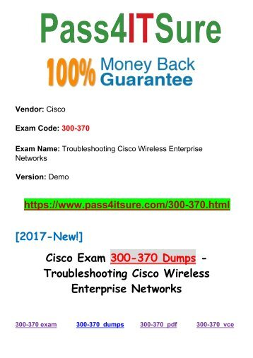 New Pass4itsure Cisco 300-370 Dumps PDF 60Q
