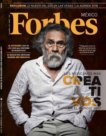 Forbes México - diciembre 2017 y enero 2018