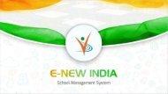E New India   Online School Management System   School ERP Software
