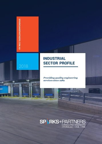 SPARKS+PARTNERS Capability Profile: 2018 Industrial