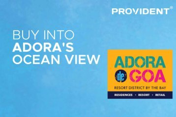 Buy Affordable Luxury Vacation Homes in Goa - Adora De Goa