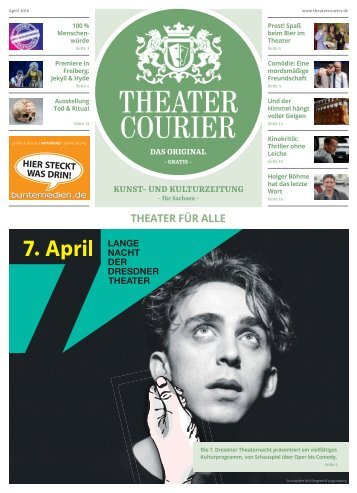 TheaterCourier April 2018