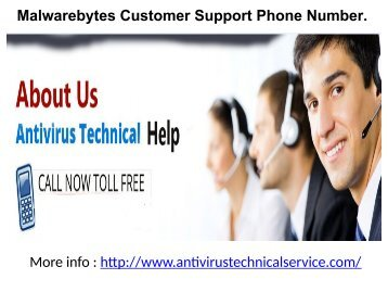 Malwarebytes Customer Support Phone Number