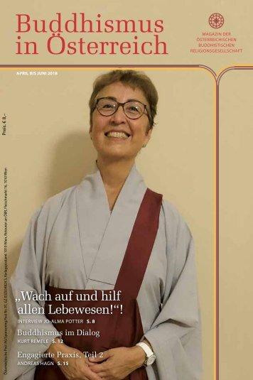 Buddhismus in Österreich Ausgabe April bis Juni 2018