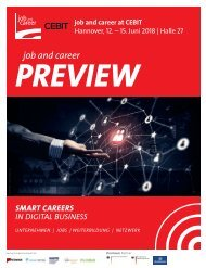 job and career at CEBIT 2018_PREVIEW