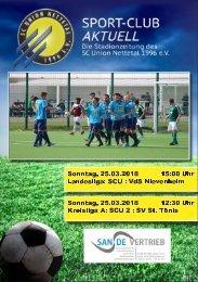 SPORT-CLUB AKTUELL - SAISON 17/18 - AUSGABE 12