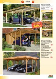 Carports - Carl Bremer GmbH & Co. KG