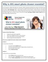Why is AVG smart photo cleaner essential?