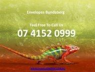 Envelopes Bundaberg