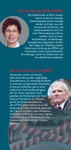 Podiumsdiskussion anlässlich der OB-Wahl - Flyer - Seite 2