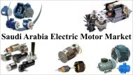 Saudi Arabia Electric Motor Market