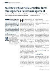 Wettbewerbsvorteile erzielen durch strategisches ... - BGW AG