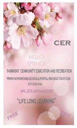 CER Brochure Spring-Summer 2018
