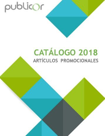 CATALOGO PUBLICOR 2018