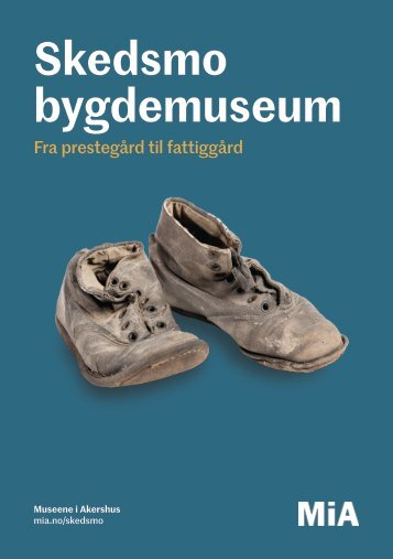 Skedsmo bygdemuseum brosjyre 2018